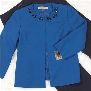 NIPON BOUTIQUE Jeweled Blazer/Jacket